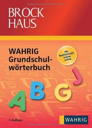 Brockhaus - Wahrig Grundschulwörterbuch - Koenen Marlies und Sebastian Coenen