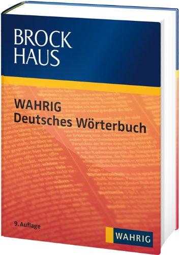 9783577076029: Brockhaus WAHRIG Deutsches Wörterbuch mit CD-ROM