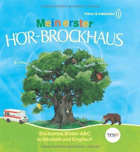 9783577076159: Mein erster H�r-Brockhaus: Ein buntes Bilder-ABC in Deutsch und Englisch