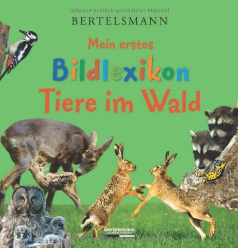 9783577090186: Mein erstes Bildlexikon - Tiere im Wald