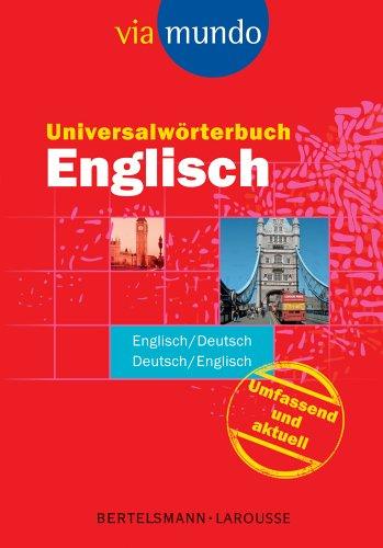 9783577101929: Universalwörterbuch Englisch