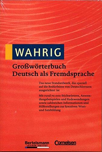 9783577102377: Gro¯w÷rterbuch Deutsch als Fremdsprache