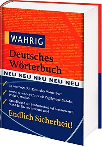 9783577102414: Wahrig Deutsches Wörterbuch