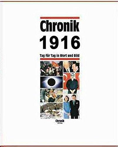 9783577140164: Chronik, Chronik 1916