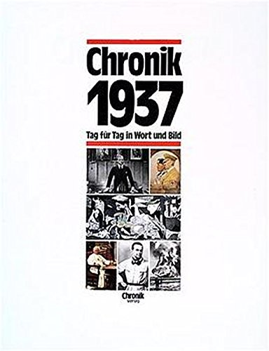 9783577140379: Chronik 1937