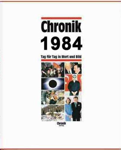 9783577140843: Chronik, Chronik 1984