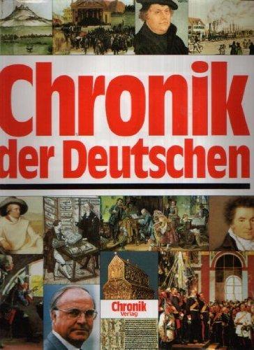 9783577143417: Chronik der Deutschen