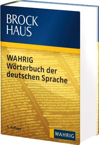 9783577165990: Brockhaus WAHRIG Wörterbuch der deutschen Sprache