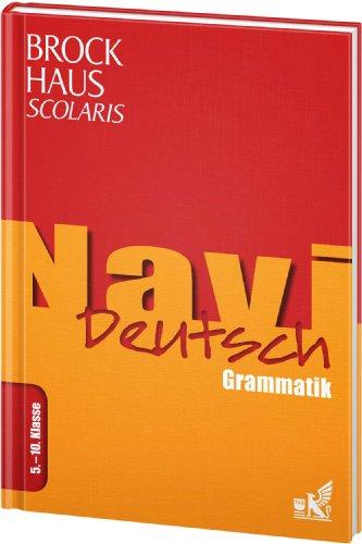 9783577200523: Brockhaus Scolaris Navi Deutsch 5. - 10. Klasse: Grammatik