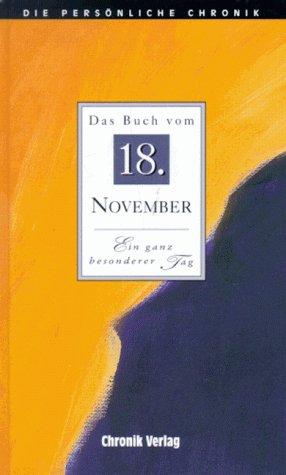 9783577311182: Die Persönliche Chronik, in 366 Bdn., 18. November
