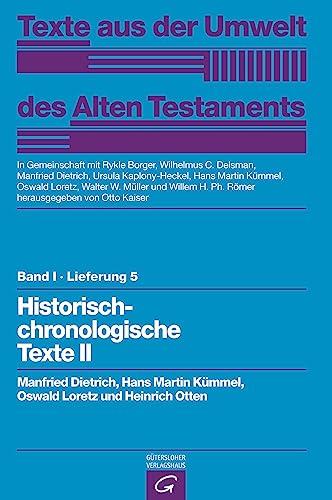 Rechts- und Wirtschaftsurkunden. Historisch-chronologische Texte II: Manfried Dietrich