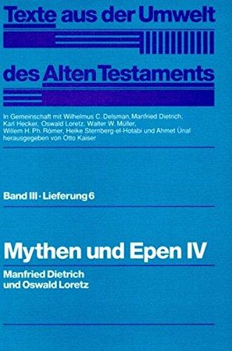 Mythen und Epen IV: Manfred Dietrich