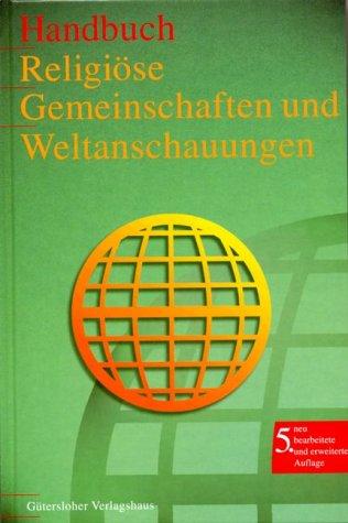 9783579023069: Handbuch Religi�se Gemeinschaften und Weltanschauungen. Mit CD- ROM.