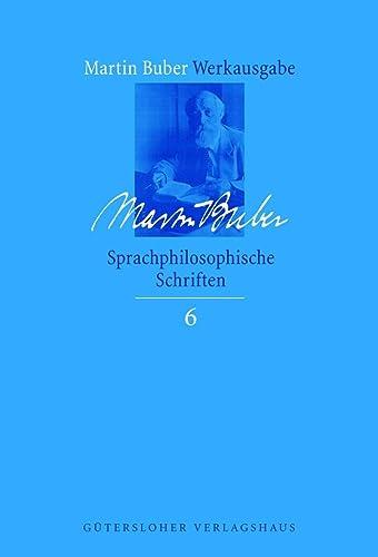 9783579026817: Sprachphilosophische Schriften: Bd. 6