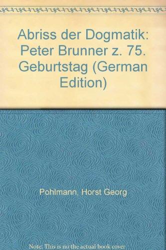 Abriß der Dogmatik (Livre en allemand)