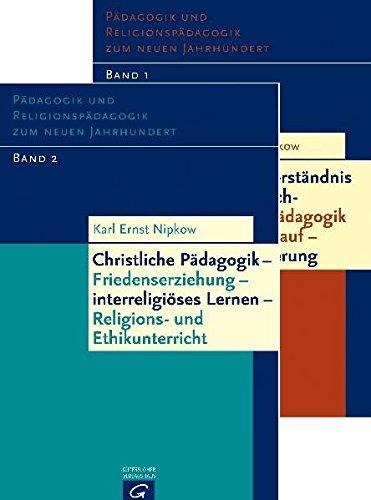 9783579052205: Pädagogik und Religionspädagogik zum neuen Jahrhundert, 2 Bde.