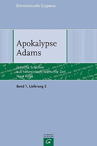 Apokalypse Adams: Emmanouela Grypeou