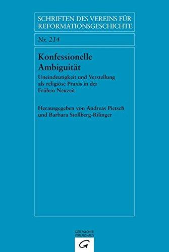 Konfessionelle Ambiguität: Andreas Pietsch