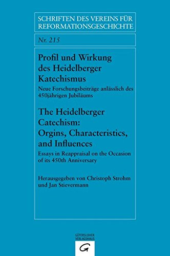 9783579059969: Profil und Wirkung des Heidelberger Katechismus. The Heidelberg Catechism: Origins, Characteristics, and Influences: Neue Forschungsbeitr�ge ... on the Occasion of its 450th Anniversary
