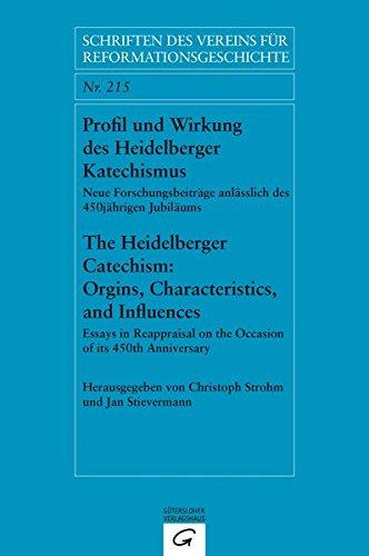 9783579059969: Profil und Wirkung des Heidelberger Katechismus. The Heidelberg Catechism: Origins, Characteristics, and Influences