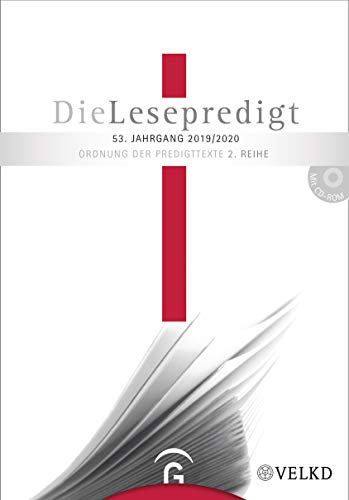 Die Lesepredigt 2019/2020 : Perikopenreihe II. Loseblattausgabe - Horst Gorski