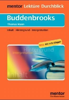 9783580633394: Lektu>RE - Durchblick: Mann: Die Buddenbrooks (German Edition)