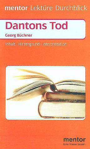 9783580633400: Lektu>RE - Durchblick: Bu>Chner: Dantons Tod (German Edition)