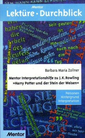 Harry Potter und der Stein der Weisen.: Rowling, Joanne K.,