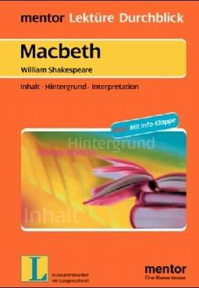 9783580634261: Macbeth. Diverse Umschlagfarben, unsortiert.