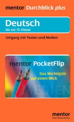 9783580641627: Deutsch bis zur 10. Klasse