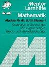 Mathematik. Algebra I. 9./10. Klasse: Rolf, Baumann: