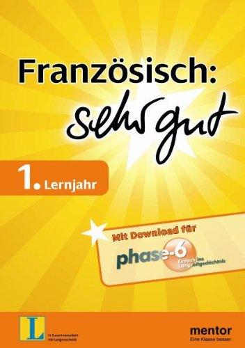 9783580652364: Franz�sisch: sehr gut, 1. Lernjahr