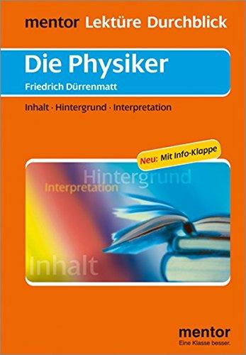 9783580653101: Die Physiker: Inhalt - Hintergrund - Interpretation