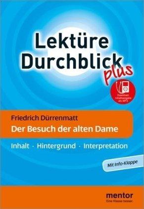 9783580653248: Der Besuch der alten Dame. Mit Info-Klappe: Inhalt. Hintergrund. Interpretation
