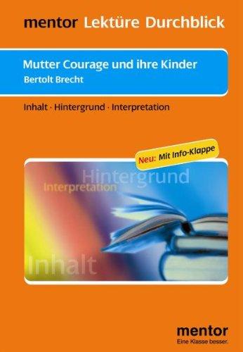 Bertolt Brecht: Mutter Courage und ihre Kinder - Buch mit Info-Klappe: Martin Neubauer
