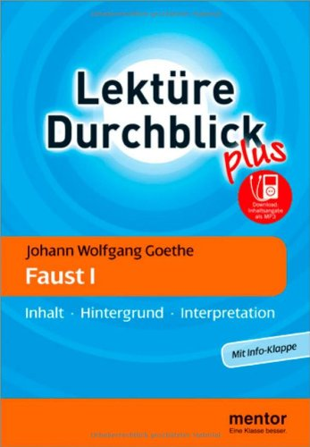 Johann Wolfgang Goethe Faust I M Mp3 Download Inhalt