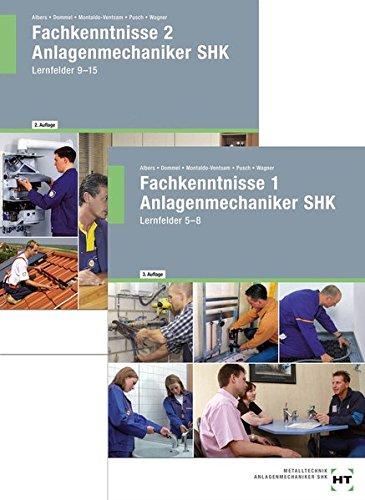 9783582031341: Paketangebot : Fachkenntnisse Anlagenmechaniker SHK 1 + 2: Lehrb�cher