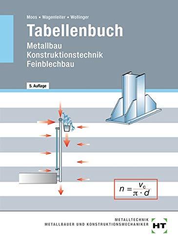 9783582031952: Tabellenbuch Metallbau, Konstruktionstechnik, Feinblechbau