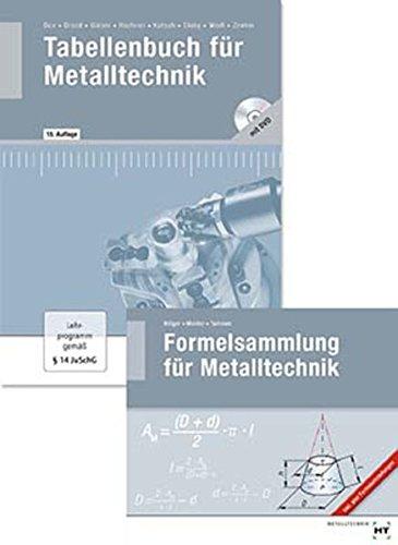 Paketangebot Tabellenbuch für Metalltechnik und Formelsammlung für: Wilhelm Dax, Nikolaus