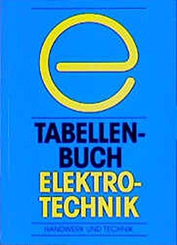 9783582036612: Tabellenbuch Elektrotechnik
