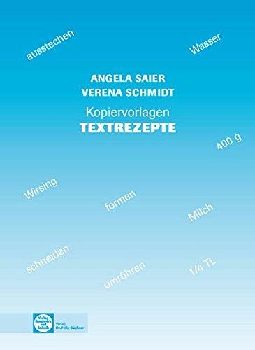 9783582073563: Kopiervorlagen Textrezepte