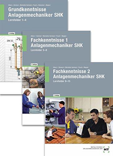 Das Gesellenstück Anlagenmechaniker SHK - Lernfelder 1-15. Paketangebot