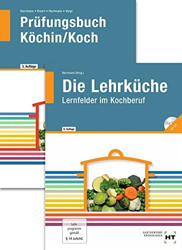 9783582400383: Paketangebot: Die Lehrküche und Prüfungsbuch Köchin/Koch: Das komplette Paket für die Ausbildung Köchin/Koch