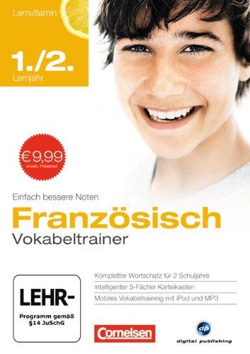 9783589003822: Lernvitamine - Neue Ausgabe - Lernvitamin Französisch: Lernvitamin Französisch 1./2. Lernjahr. Vokabeltrainer