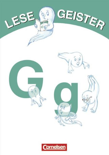 9783589004669: Lesegeister 1./2. Schuljahr. G wie Geister