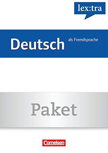 9783589017256: Lextra Deutsch als Fremdsprache A1-B1 (Übungsbuch) und A1-B2 (Lernwörterbuch): Grund- und Aufbauwortschatz nach Themen. 01559-7 und 01560-3 im Paket