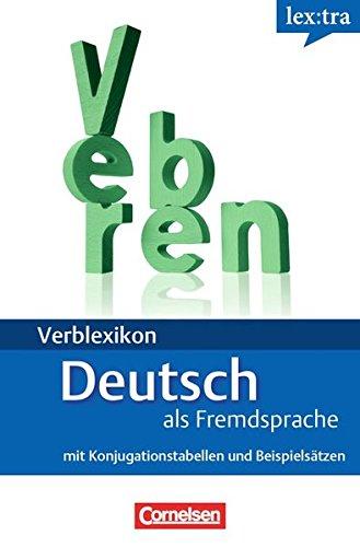 9783589019281: Verblexikon Deutsch als Fremdsprache : mit Konjugationstabellen und Beispielsätzen