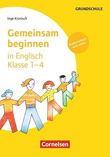 9783589039340: Gemeinsam beginnen in Englisch: Klasse 1-4