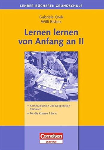 9783589050833: Lernen lernen von Anfang an Bd.2: Kommunikation und Kooperation trainieren - Für die Klassen 1-4