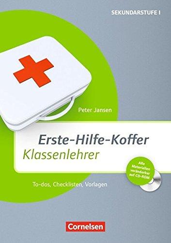 9783589162581: Erste-Hilfe-Koffer: Klassenlehrer: To-Dos, Checklisten, Vorlagen
